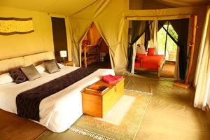 Enkewa camp in Kenya